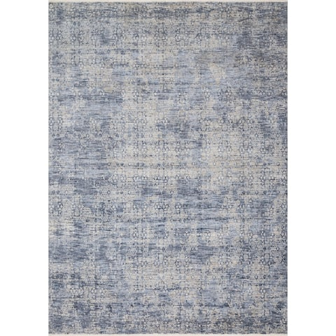 "Alexander Home Distressed Malina Traditional Persian Rug - 9'6"" x 12'5"""