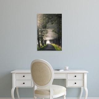 Easy Art Prints Lars Van de Goor's 'Rays of Fog' Premium Canvas Art