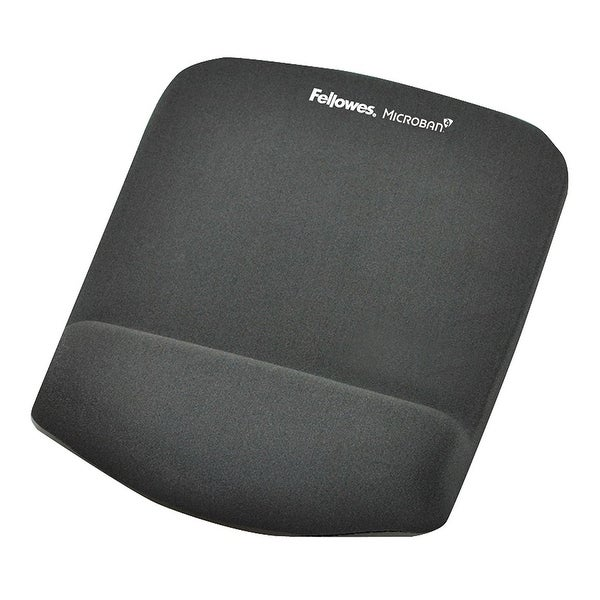 Fellowes, Inc. - Plush Touch Mousepad/Wristrest W/Foam Fusion Technology