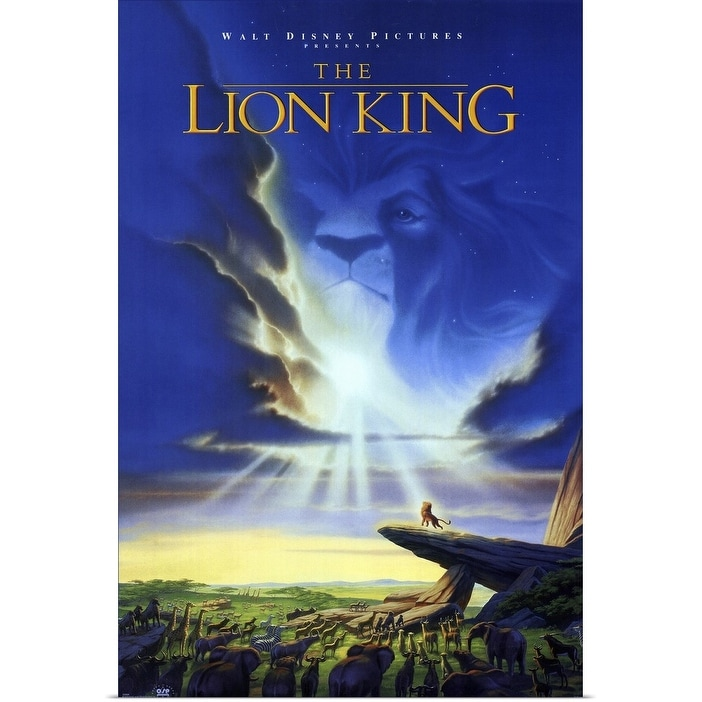 Shop Black Friday Deals On The Lion King 1994 Poster Print Overstock 24136131