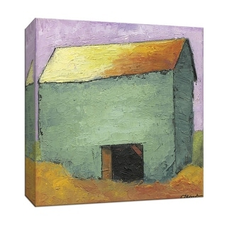 """PTM Images 9-146891  PTM Canvas Collection 12"""" x 12"""" - """"Barn II"""" Giclee Country Buildings Art Print on Canvas"""