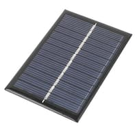 DC 6V 0.6W Rectangle Energy Saving Solar Cell Panel Module 90x60mm for Charger