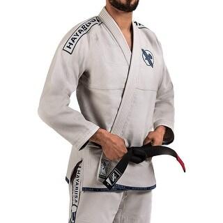 Hayabusa Lightweight Pearl Weave Jiu-Jitsu Gi - Stone White
