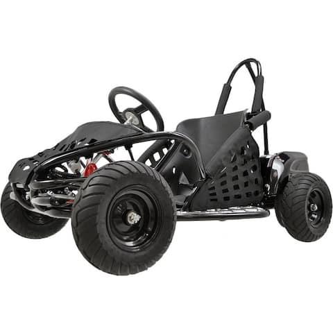 MotoTec Black 48v 1000w Off Road Go Kart