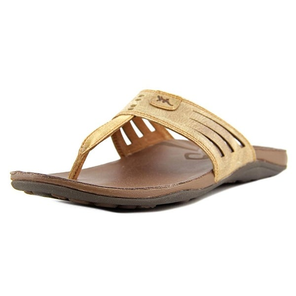 Chaco Sansa Women Open Toe Synthetic Brown Flip Flop Sandal