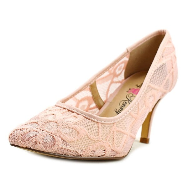Penny Loves Kenny Union Women Round Toe Synthetic Pink Heels