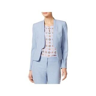 Nine West Womens Open-Front Blazer Suit Separate Office Wear