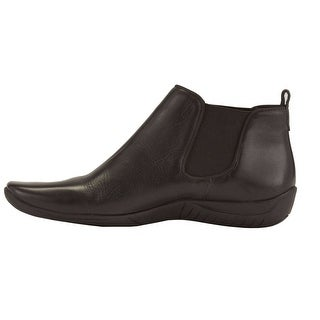 Walking Cradles Womens Ante Leather Closed Toe Ankle Fashion Boots - 7