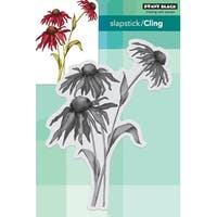 """Penny Black Cling Stamps 4.4""""X6""""-Dancing Daisies"""