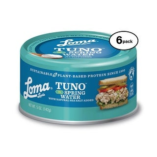 Loma Linda Tuno Plant Based Spring Water 5 Oz Pack Of 6