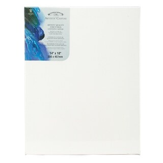 """Artists' Quality Stretched Canvas-14""""X18"""""""