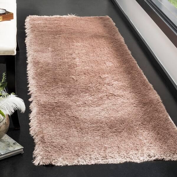 decorative play mat.htm shop safavieh paris shag danara glamour solid polyester rug on  shop safavieh paris shag danara glamour