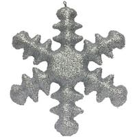 """20"""" Inflatable Snow Flake Shaped Ornament (Silver) - silver"""