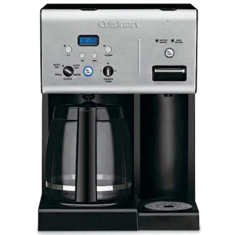 "Cuisinart CHW-12 ""Coffee Plus"" Programmable 12-Cup Coffee Maker - 10.25"" x 9.50"" x 14.30"""