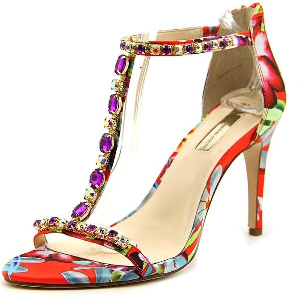 INC International Concepts Rylee Women Tangerine Multi Sandals
