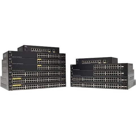 Cisco Systems Sg350-28Mp 28-Port Gigabit PoE Managed Switch (SG35028MPK9NA)