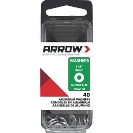 "Arrow 1/8"" Alum Back Plate"