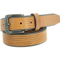 Remo Tulliani Men's Valentino Belt Tan