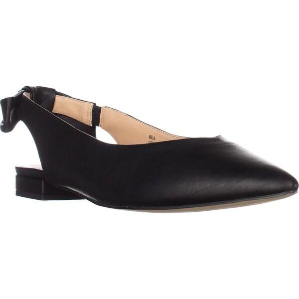 Nanette Lepore Ariel Pointed Toe Flats, Black