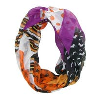 David & Young Women's Halloween Holiday Infinity Loop Scarf - One size