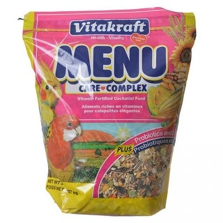 Vitakraft Menu Care Complex Cockatiel Food 5 lbs
