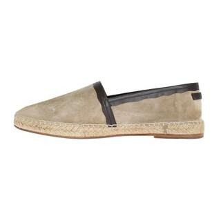 Dolce & Gabbana Beige Suede Leather Corrida Espadrilles - eu44-us11