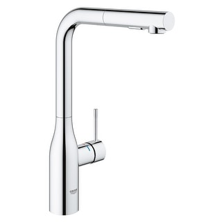 Link to Grohe 30 271 Essence 1.75 GPM Single Hole Pull Out Kitchen Faucet with Similar Items in Faucets