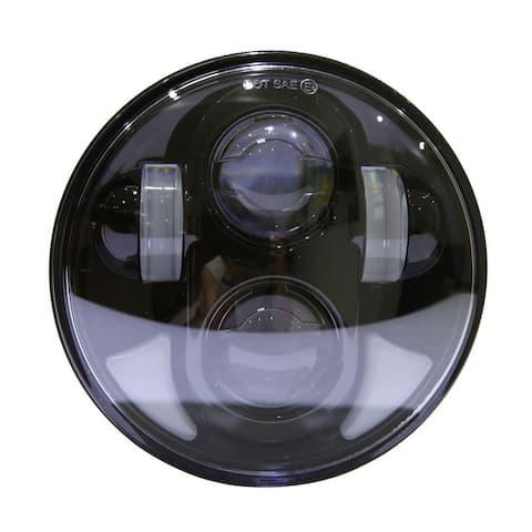 "5.75"" 40W 8-LED White Light IP67 Waterproof LED Headlight for Vehicles"