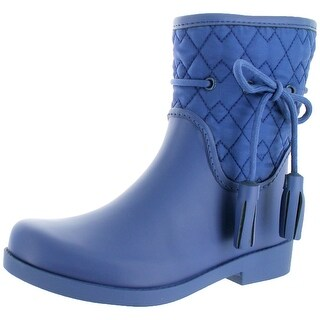 Jessica Simpson Racyn Women's Quilted Rubber Rain Boots