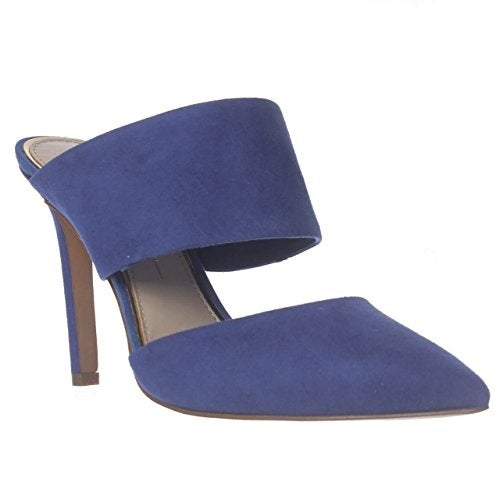 Jessica Simpson Chandra Mule Sandals - New Cobalt Blue