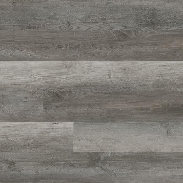 "MSI VTG6X48-2MM-6MIL-WO Katavia 6"" Wide Waterproof Smooth White Oak-Imitating Glue down Luxury Vinyl Planks - Woodrift Gray"