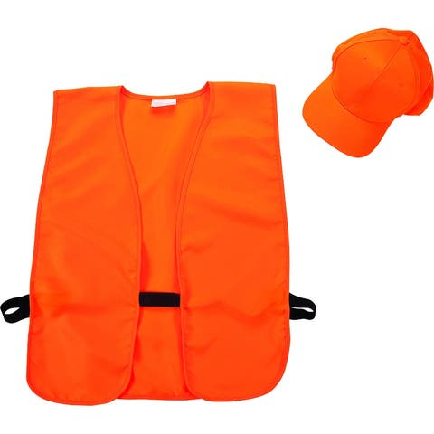 Allen 17555 Hat & Vest Combo for Adults, Blaze Orange
