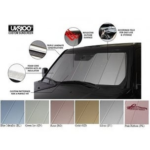 Covercraft UVS100 - Series Custom Fit Windshield Shade for S - Silver
