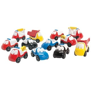 Dantoy Fun Car Set, 12 Pieces