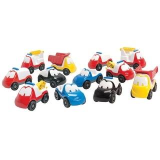Dantoy Fun Car Set, 12 Pieces