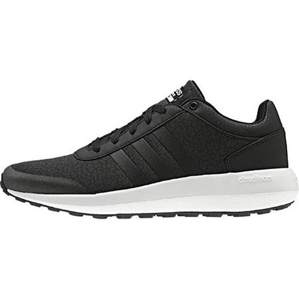 Shop adidas Women's NEO Cloudfoam Race Sneaker BlackBlack