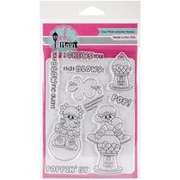 """Pink & Main Clear Stamps 4""""X6""""-Chews You"""