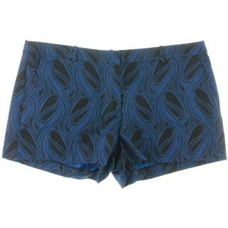 MICHAEL Michael Kors Womens Printed Flat Front Casual Shorts - 16