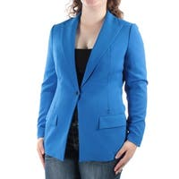 Womens Blue Casual Blazer Jacket  Size  12