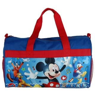 Disney Kids Mickey Mouse Travel Duffle Bag One Size