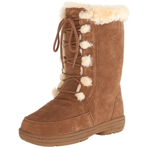 Bearpaw Girls Macey Winter Boots Lined Suede