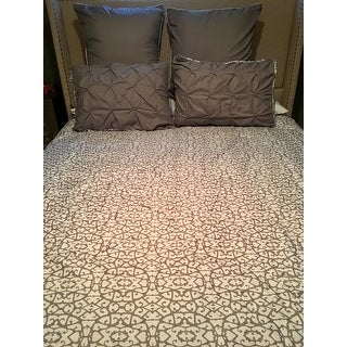 Chic Home Rajiv Grey 10-piece Reversible Bed in a Bag Comforter Set