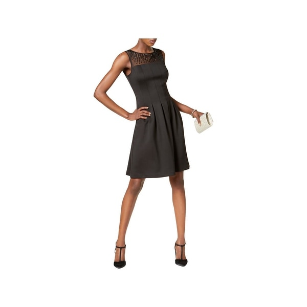 Shop Ellen Tracy Womens Cocktail Dress Sleeveless Fit