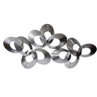 """Moes Home Collection MJ-1009 29"""" x 63"""" Looped Metal Art - N/A"""
