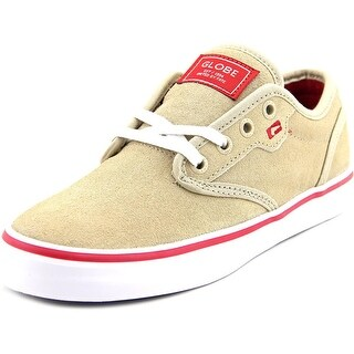 Globe Motley Round Toe Suede Skate Shoe