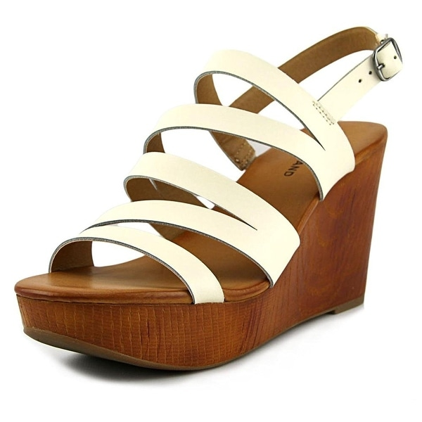 Lucky Brand Womens Marinaa Open Toe Casual Platform Sandals