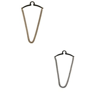 Competition Inc. Men's Single Loop Tie Chain - Gold/Silver - One Size