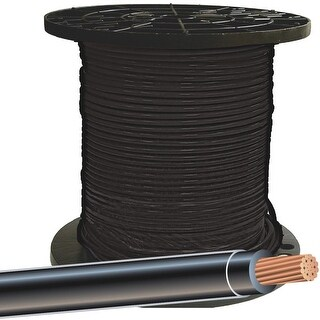 Southwire 500 8Str Blk Thhn Wire