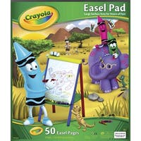 Crayola Easel Pad, 17 X 20 in, 50 Sheets