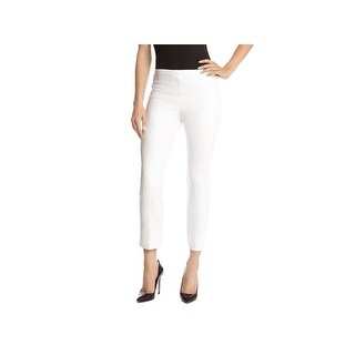 Karen Kane Womens Capri Pants Stretch Flat Front